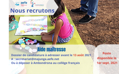 Aide maternelle