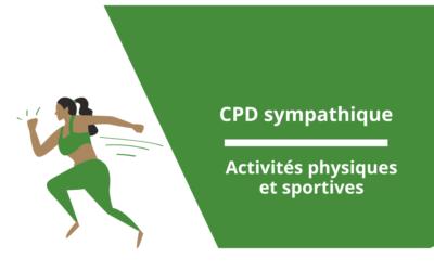 CPD sympathique : activités physiques et sportives!